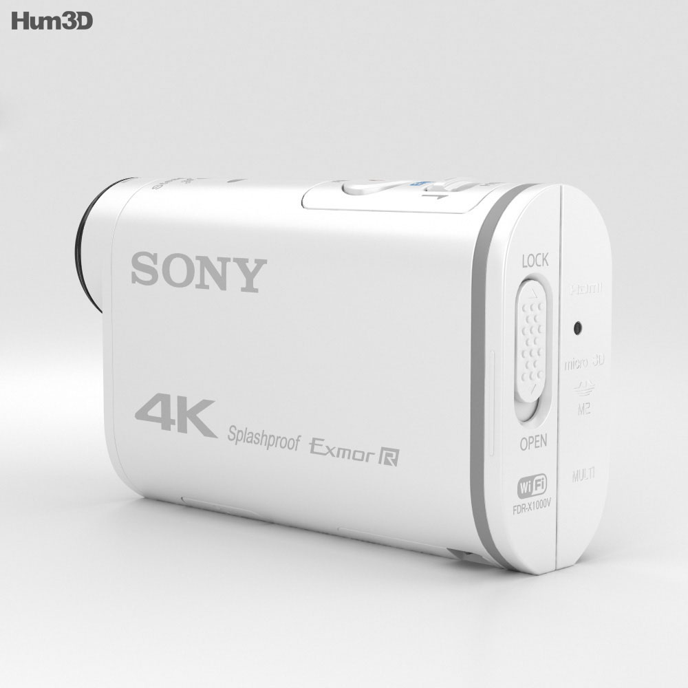 Sony Action Cam FDR-X1000V 4K 3d model