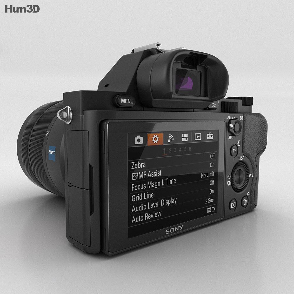 Sony Alpha 7R 3d model