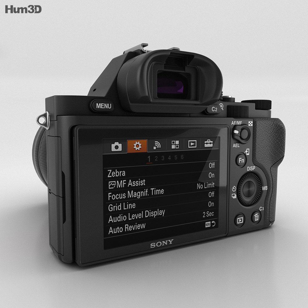 Sony Alpha 7S 3d model