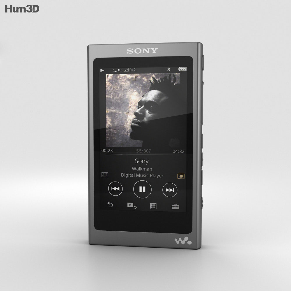 Sony NW-A35 Black 3d model