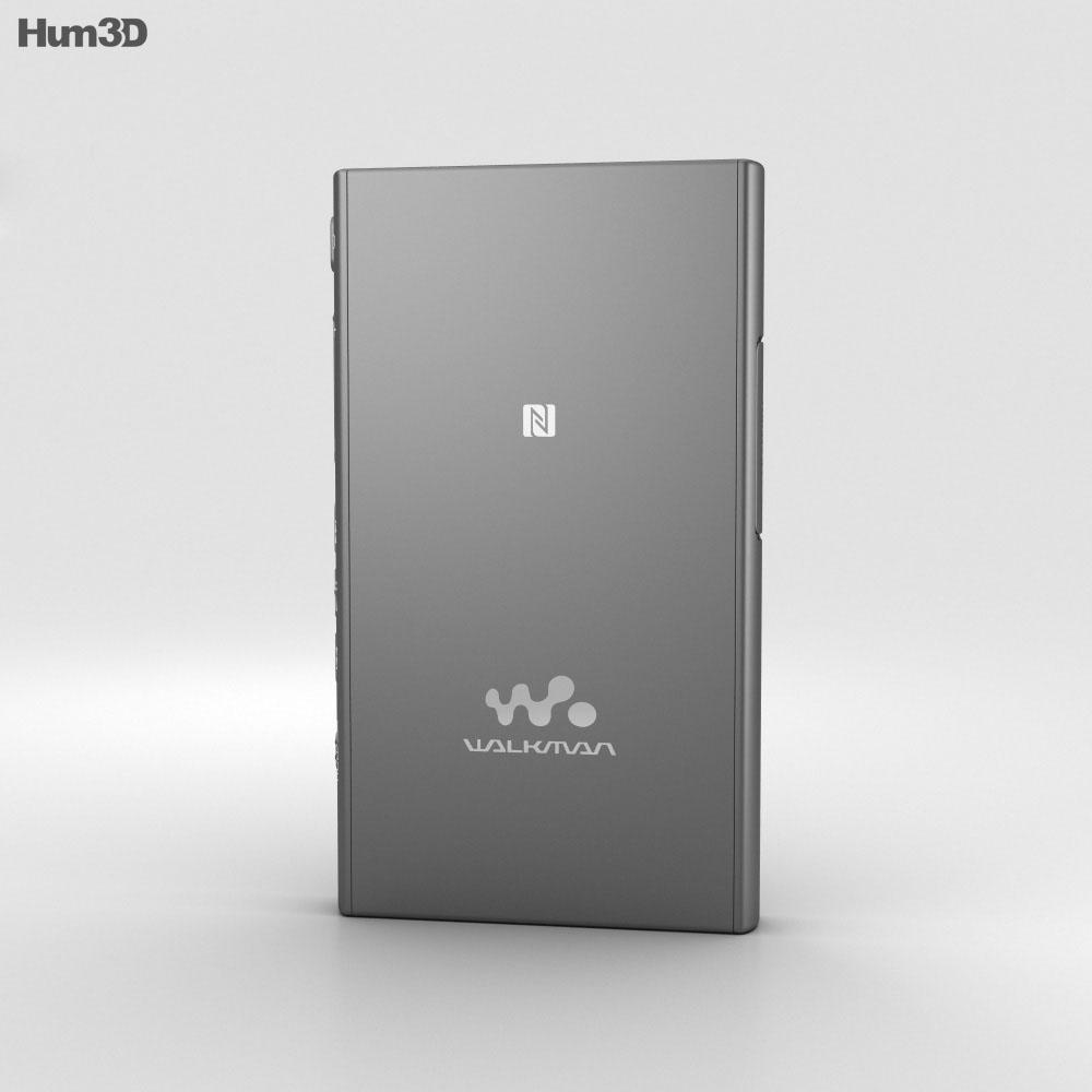 Sony NW-A35 Black 3d model