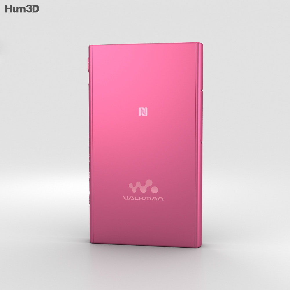 Sony NW-A35 Pink 3d model