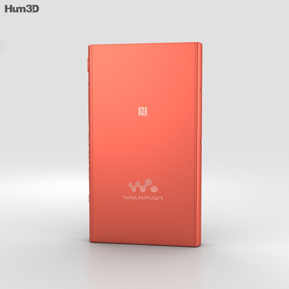Sony NW-A35 Red 3d model