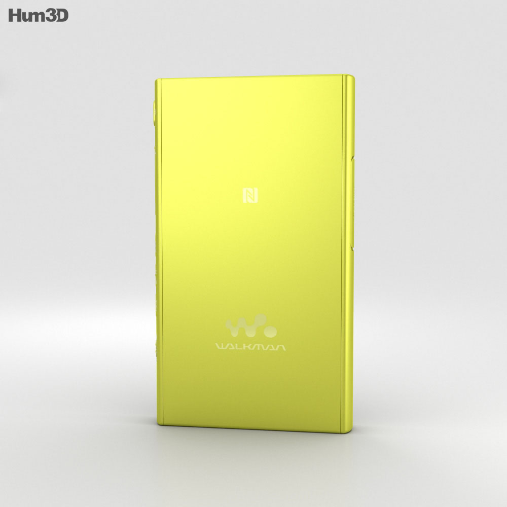 Sony NW-A35 Yellow 3d model
