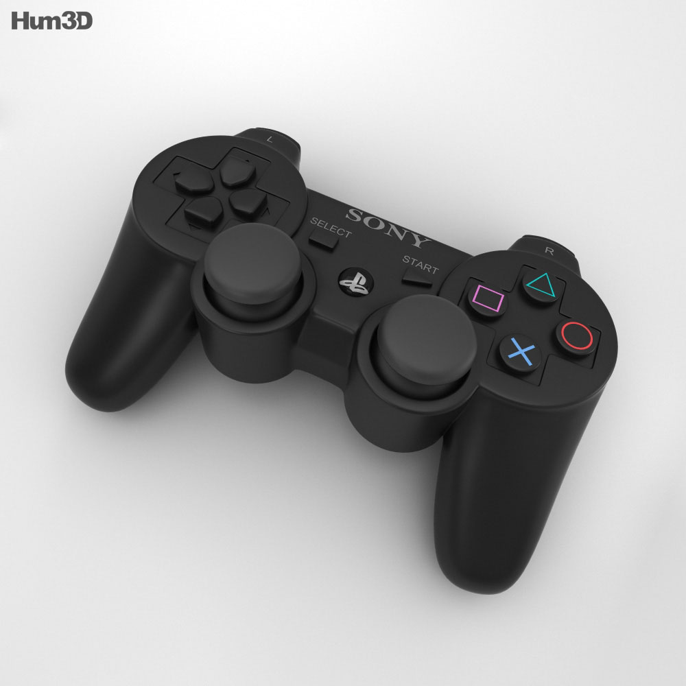 Sony PlayStation 3 Controller 3d model
