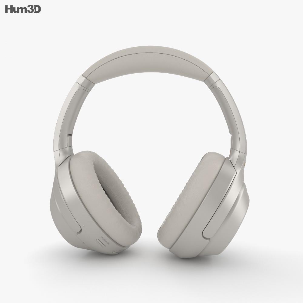 Sony WH-1000XM3 Silver 3d model