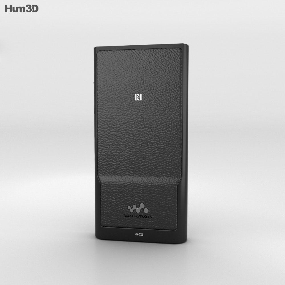 Sony Walkman Player NW-ZX2 3d model