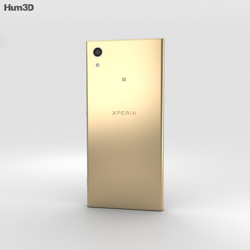 Sony Xperia XA1 Gold 3d model