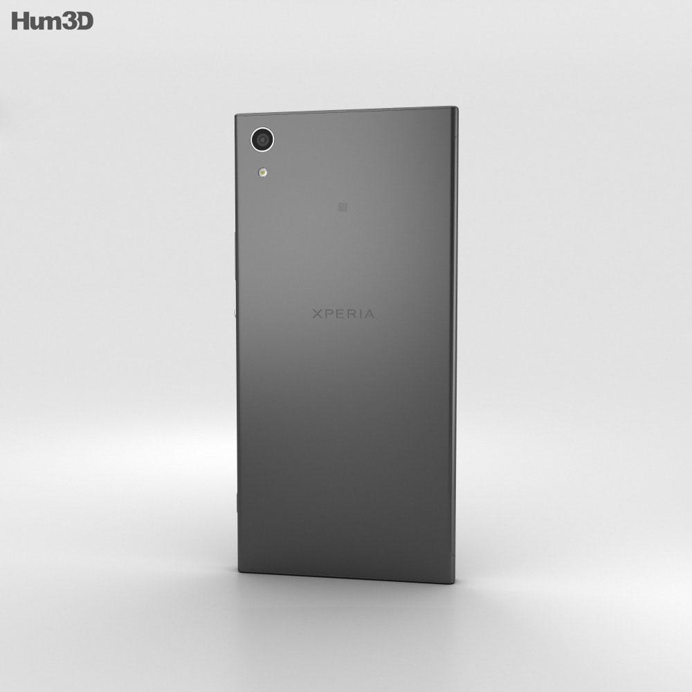 Sony Xperia XA1 Ultra Black 3d model