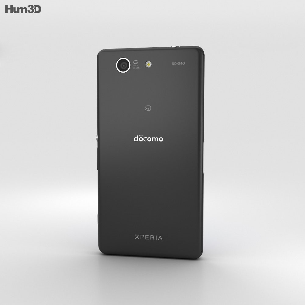 Sony Xperia A4 SO-04G Gray 3d model