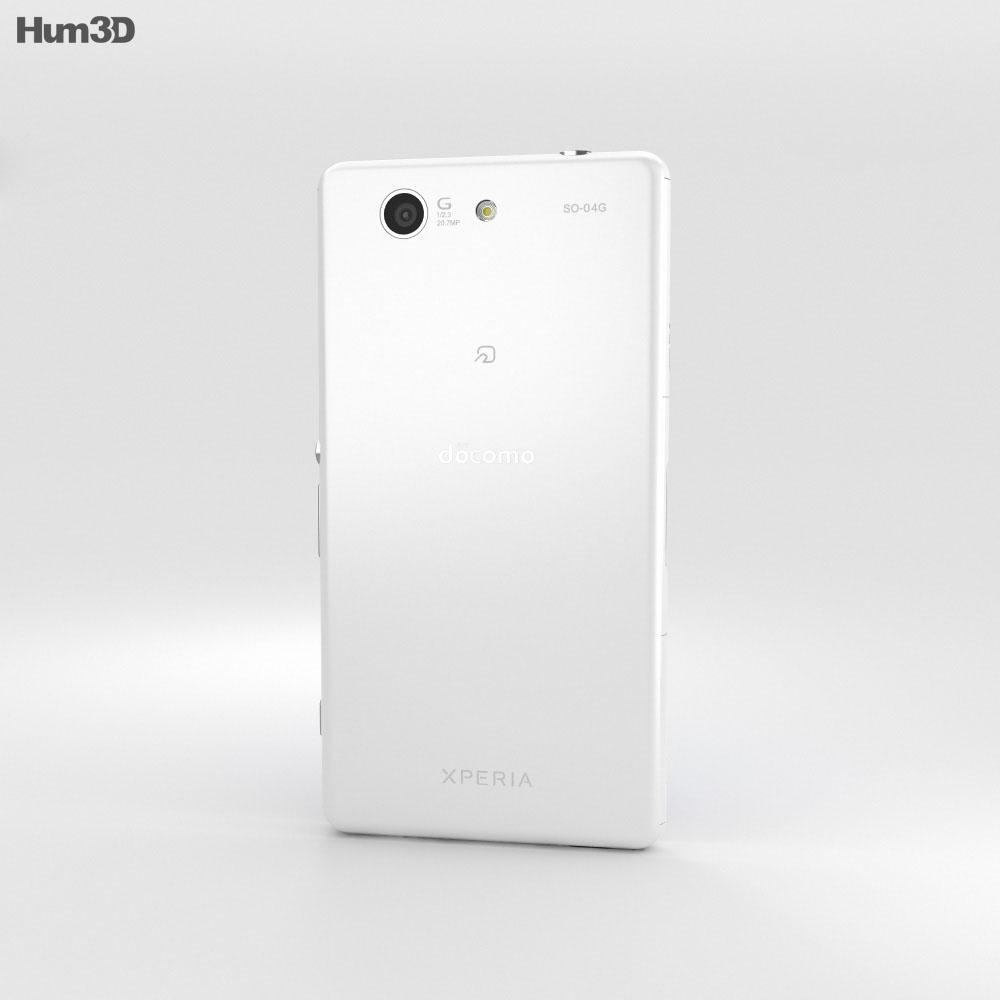 Sony Xperia A4 SO-04G White 3d model