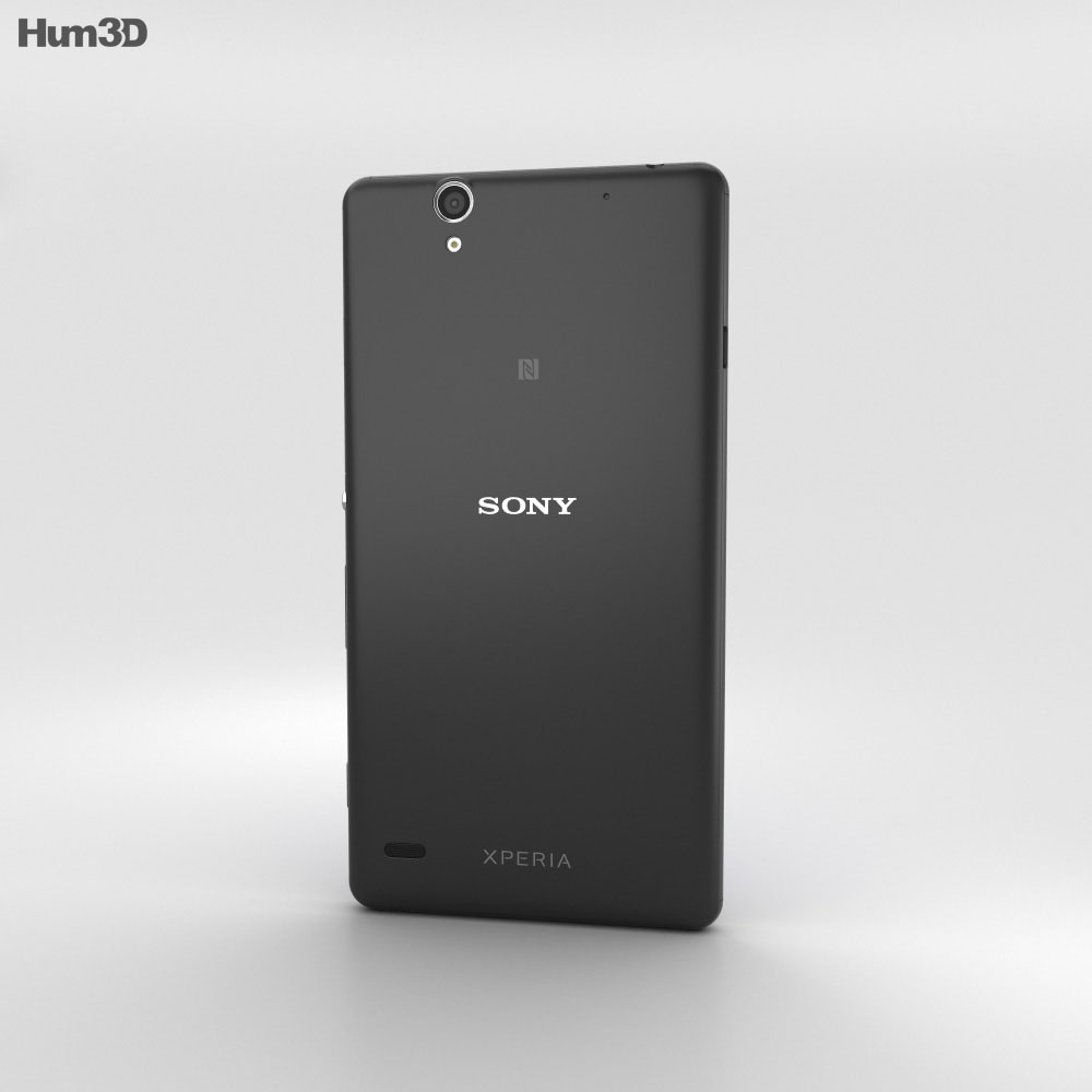 Sony Xperia C4 Black 3d model