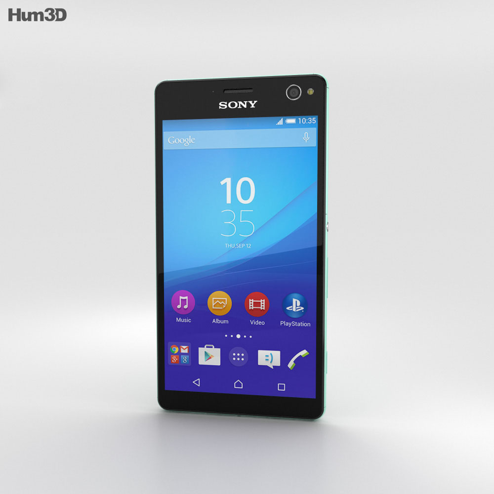Sony Xperia C4 Mint 3d model