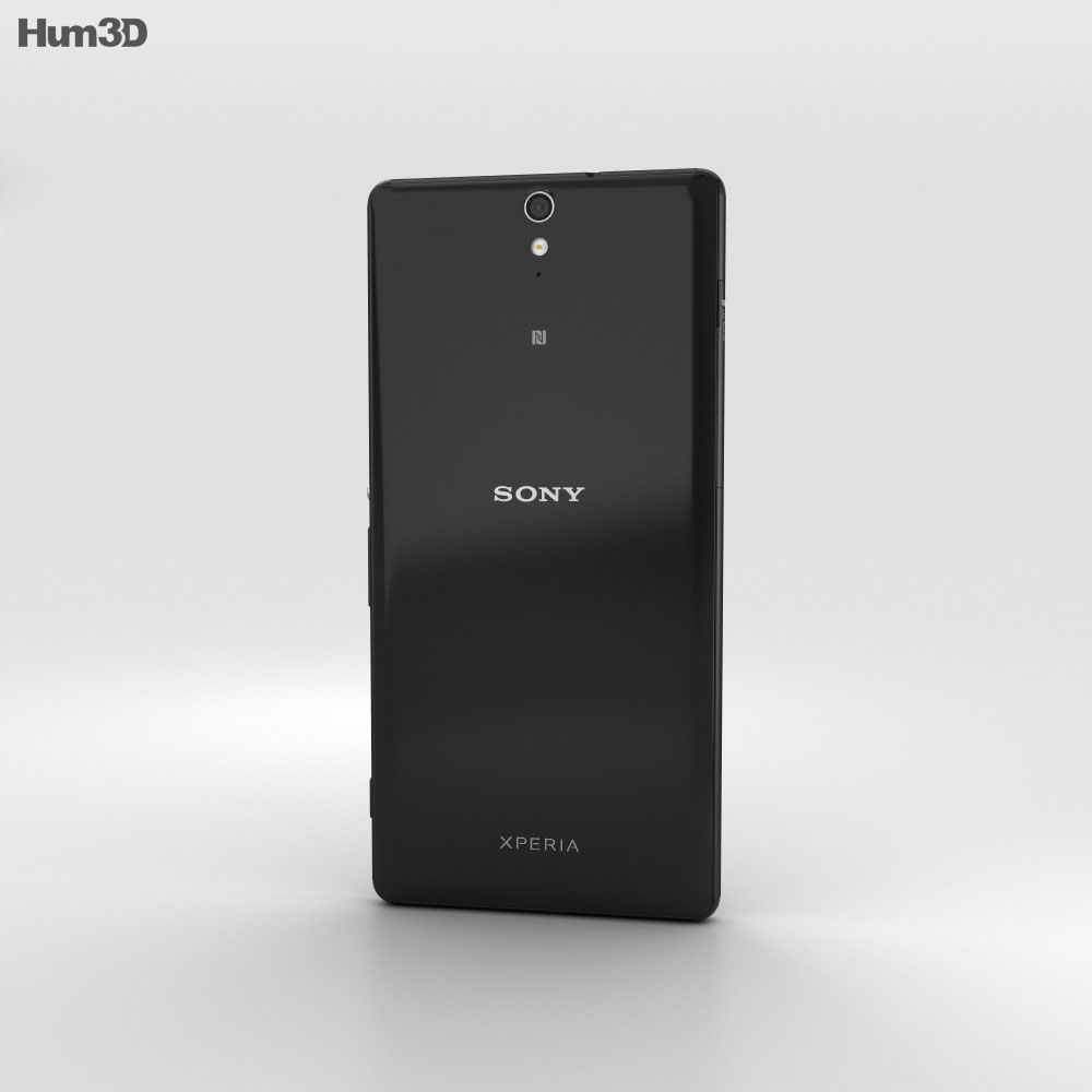 Sony Xperia C5 Ultra Black 3d model