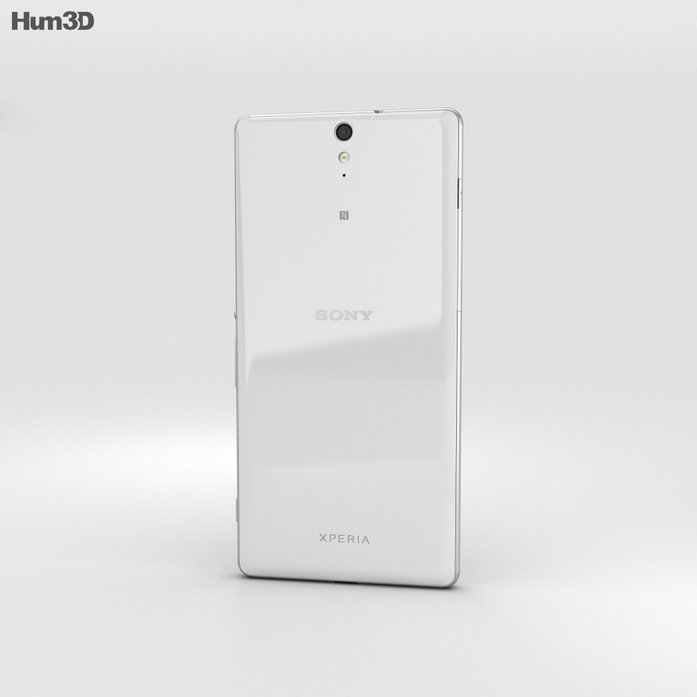Sony Xperia C5 Ultra White 3d model