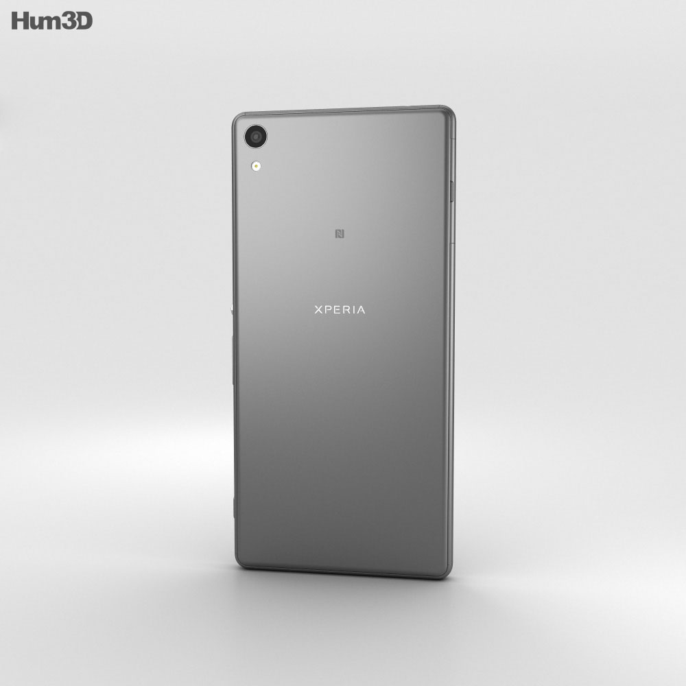 Sony Xperia XA Ultra Graphite Black 3d model