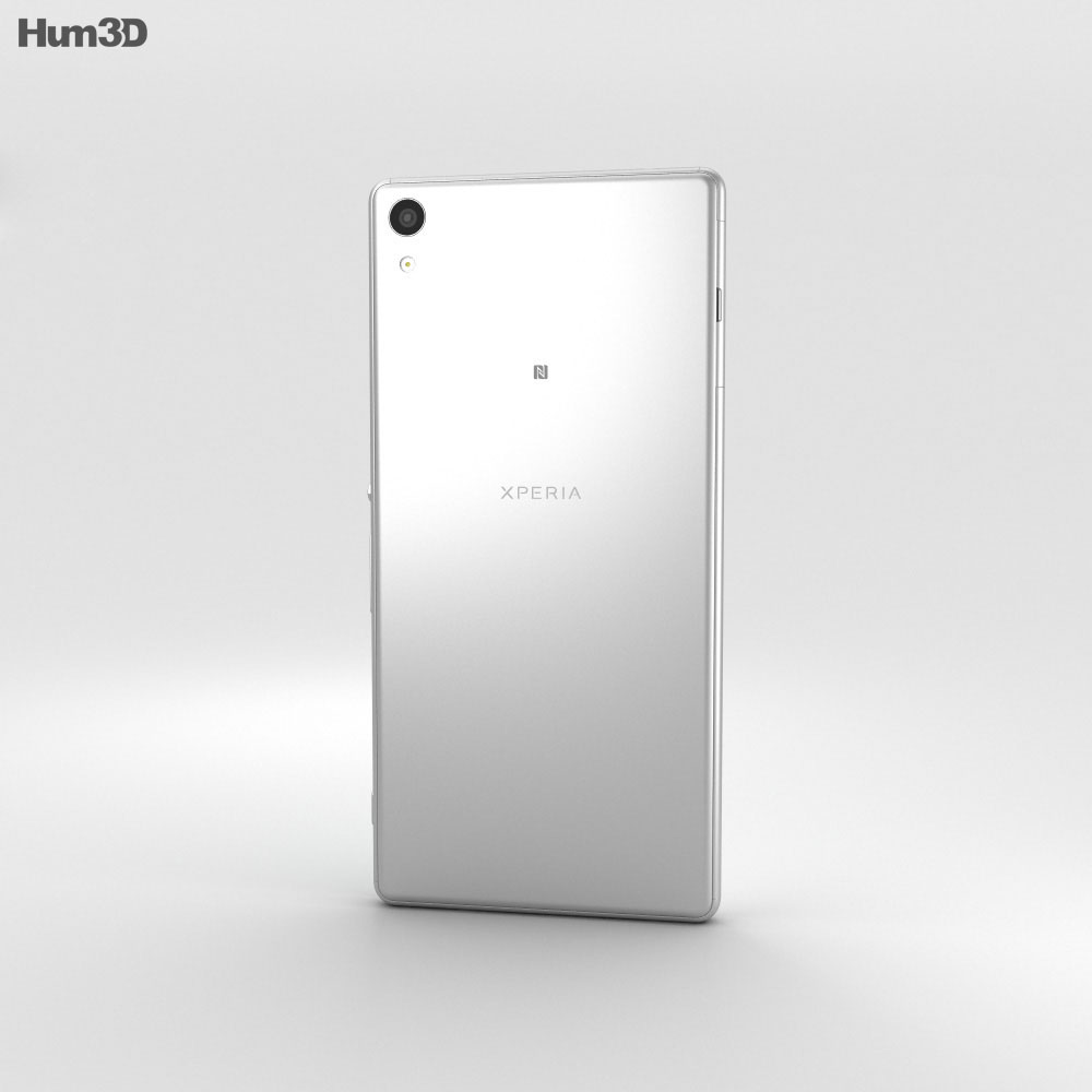 Sony Xperia XA Ultra White 3d model