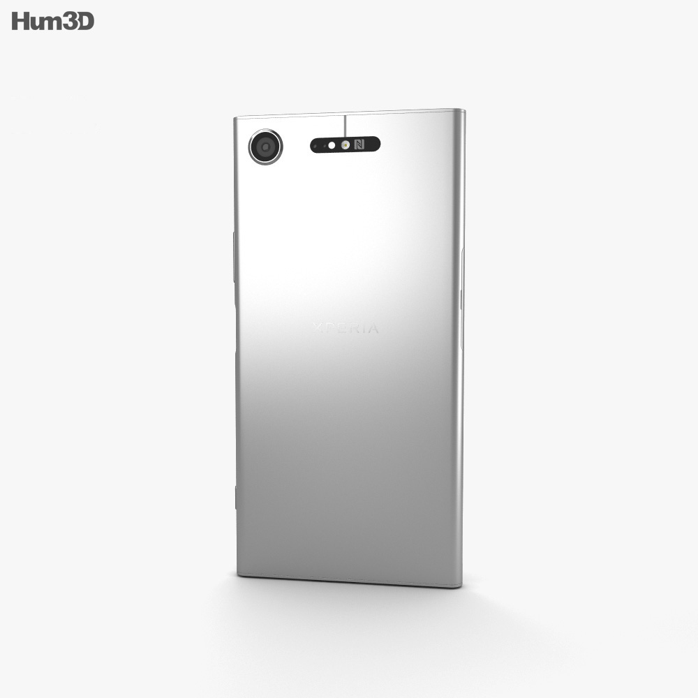 Sony Xperia XZ1 Warm Silver 3d model