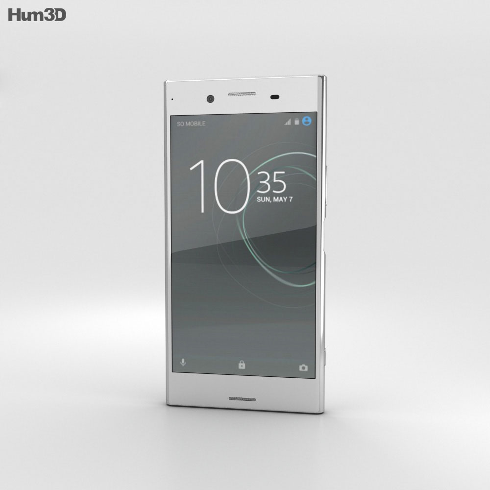 Sony Xperia XZ Premium Luminous Chrome 3d model