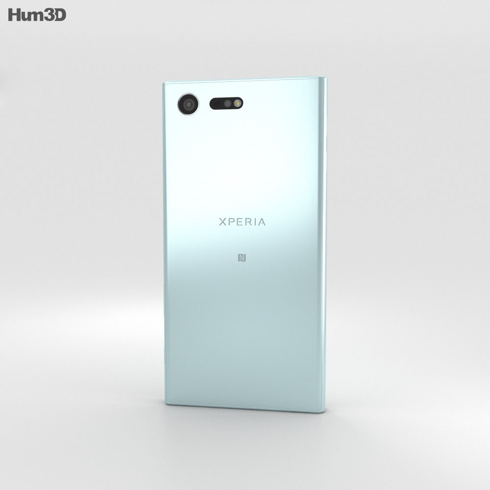 Sony Xperia X Compact Mist Blue 3d model