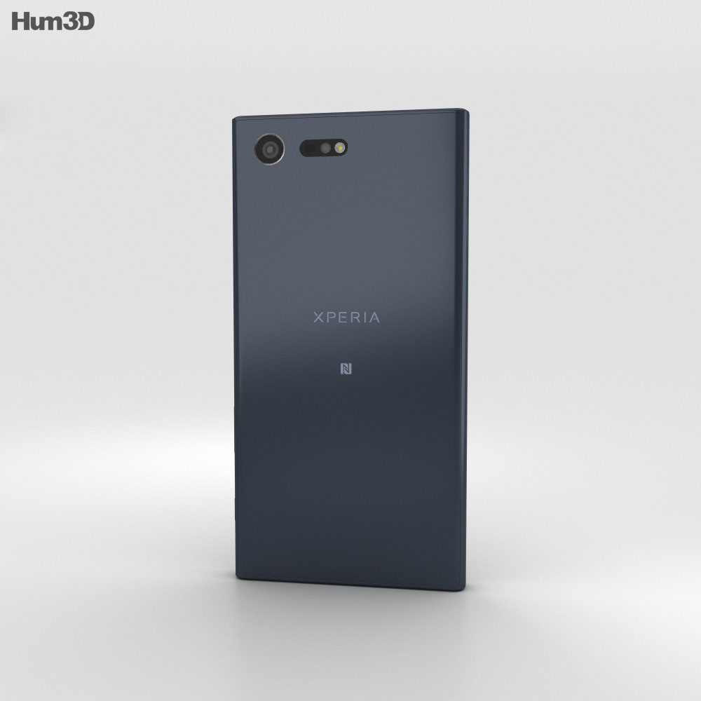 Sony Xperia X Compact Universe Black 3d model