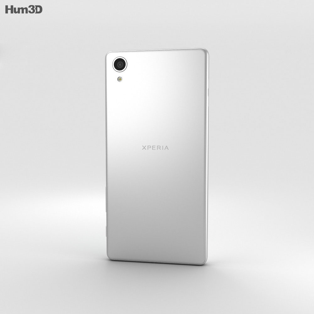 Sony Xperia X White 3d model