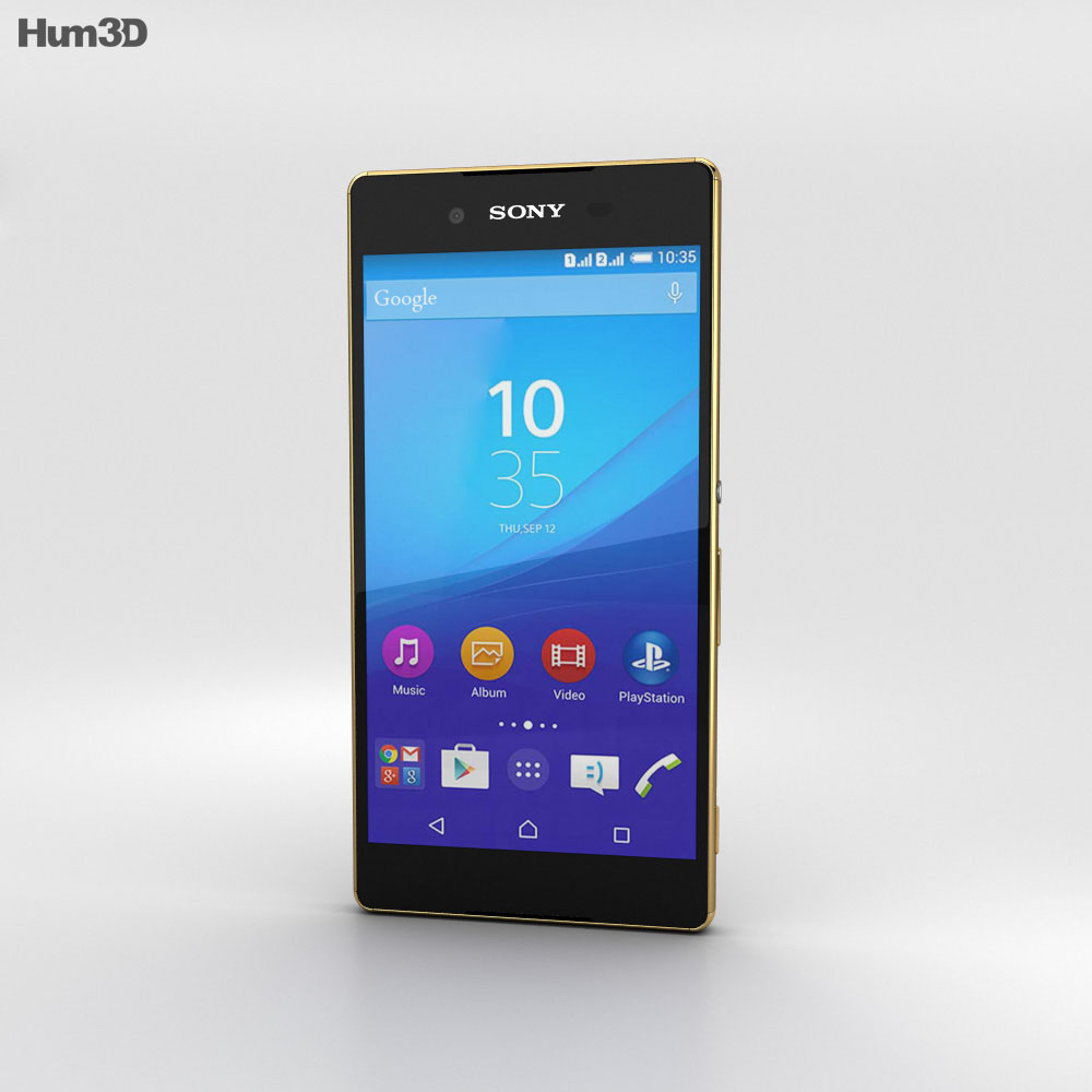 Sony Xperia Z4 Copper 3d model