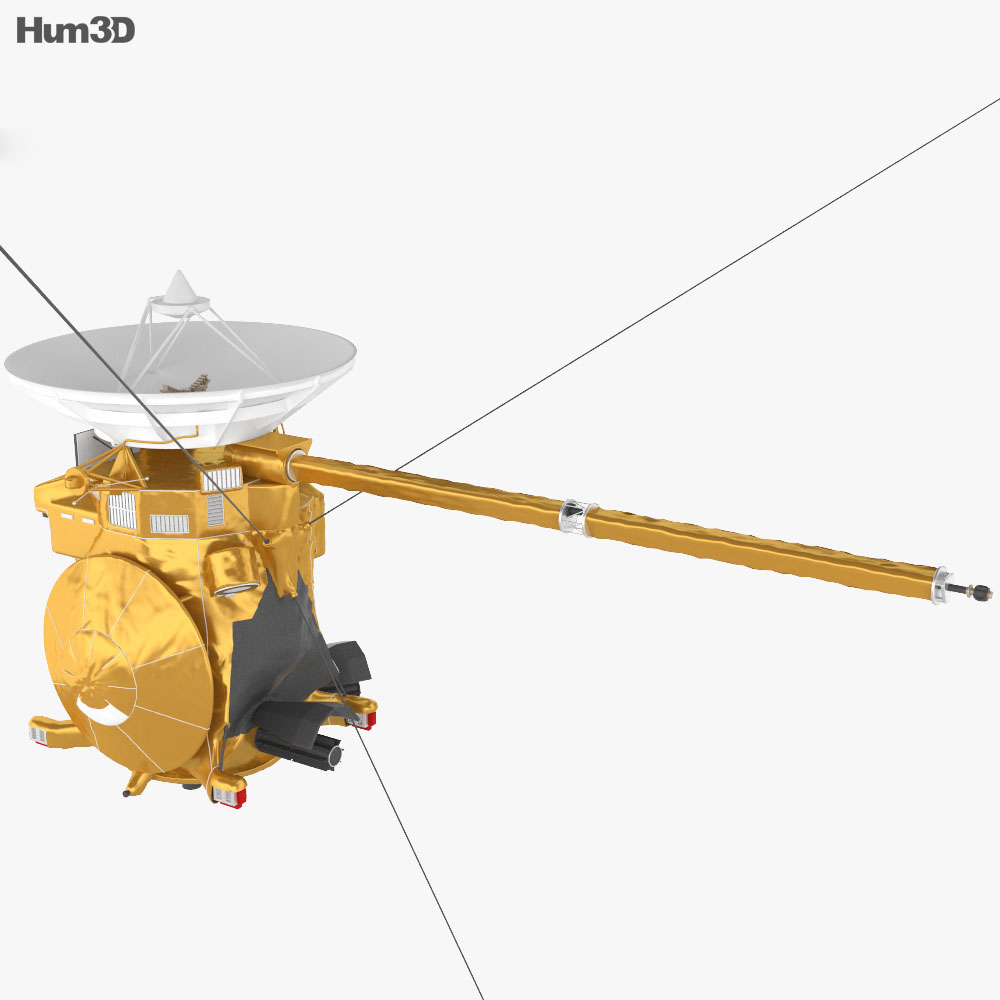 3D model of Cassini-Huygens