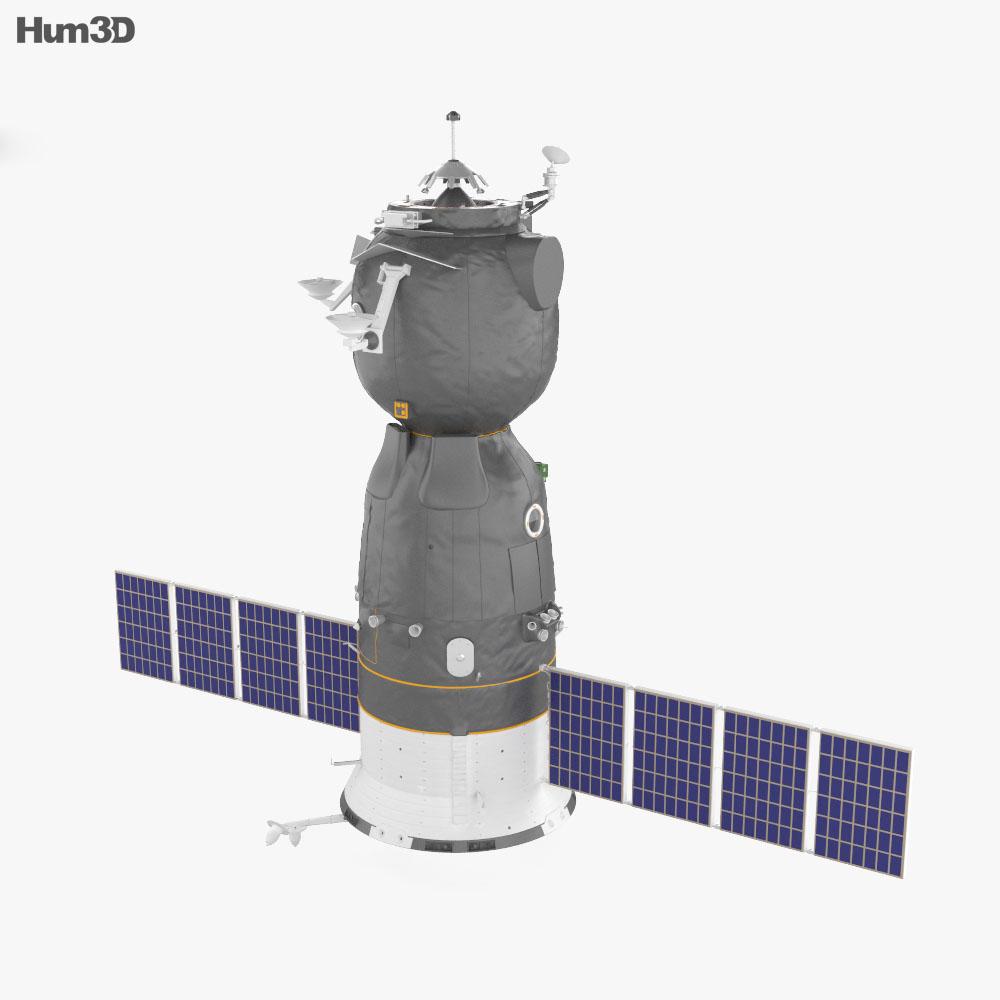 Soyuz TMA-01M 3d model