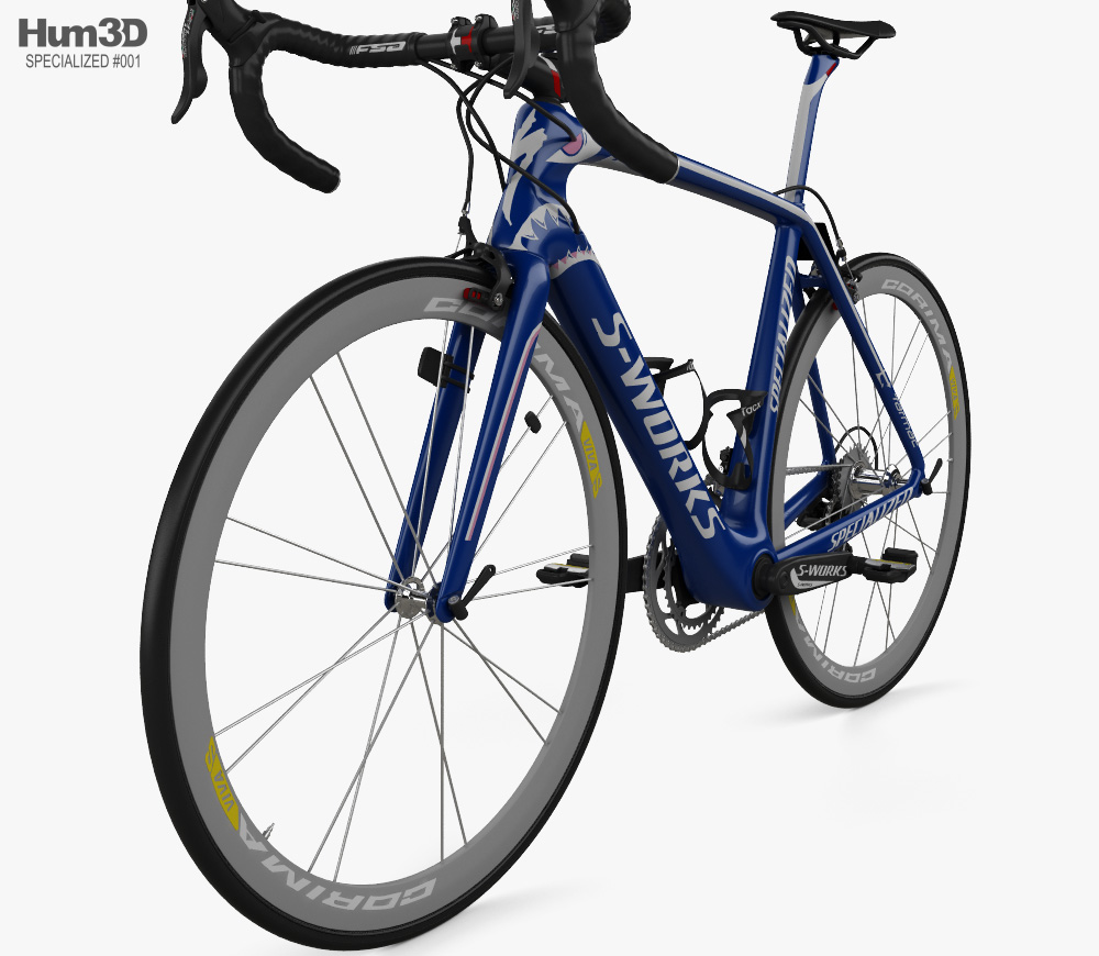 Specialized Nibali 2014 3d model