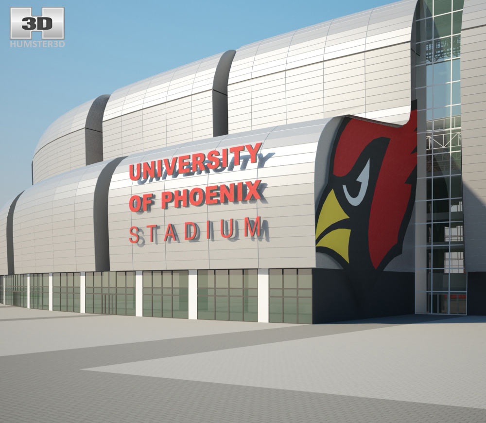 University of Phoenix Stadium 3d model