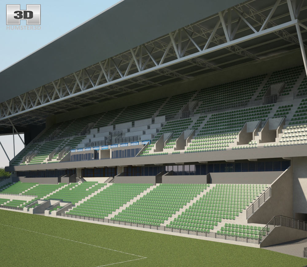 Stade Geoffroy-Guichard 3d model