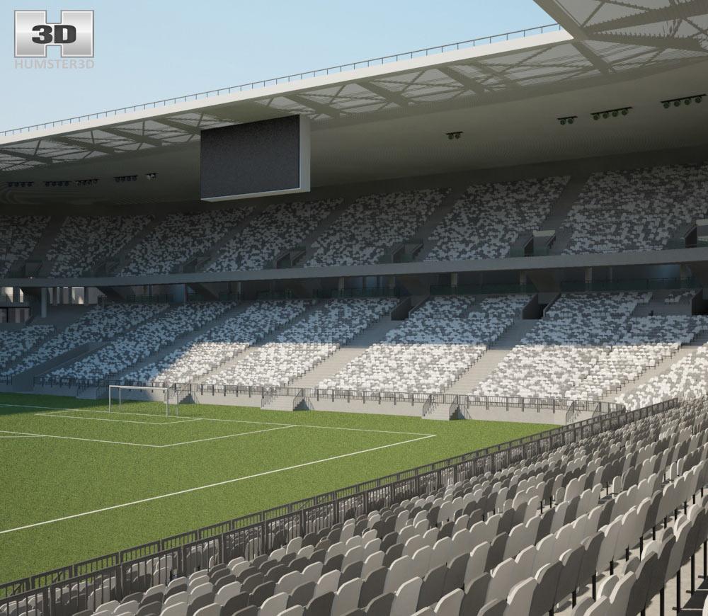 Nouveau Stade de Bordeaux 3d model