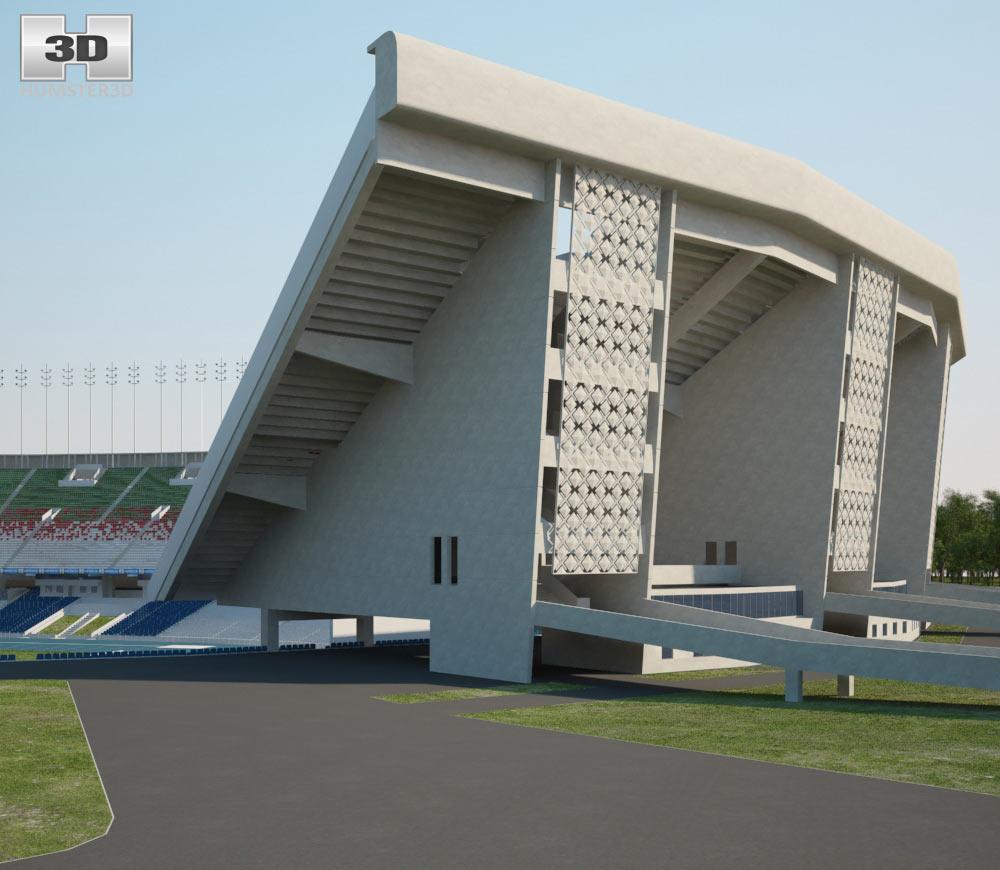 Stade du 5 Juillet 1962 3d model