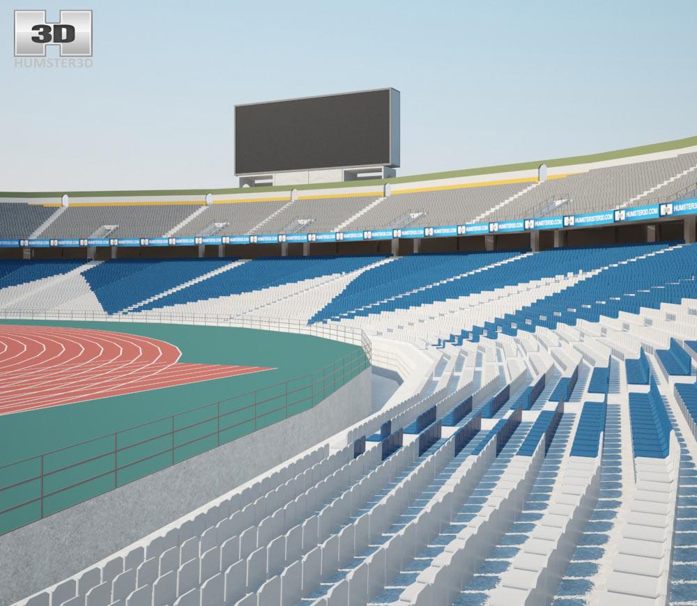 Azadi Stadium 3d model