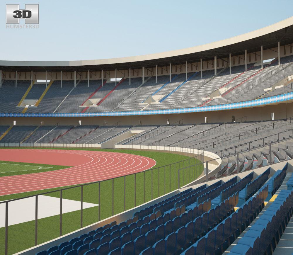 Stade des Martyrs 3d model