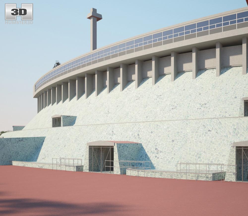 Estadio Olimpico Universitario 3d model