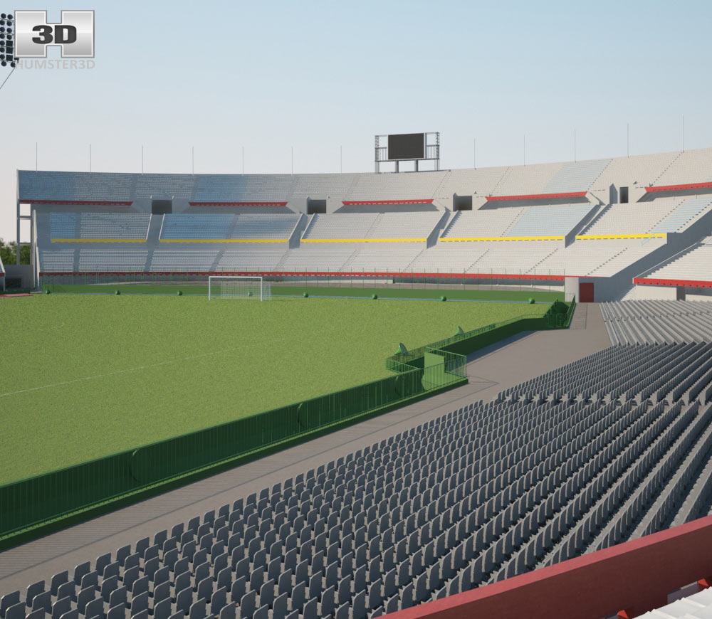 Estadio Centenario 3d model