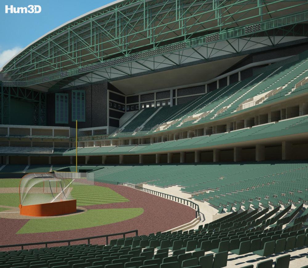 Chase Field 3d model