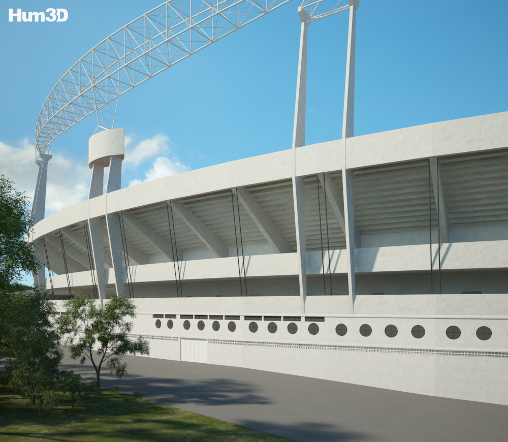 Estadio do Morumbi 3d model