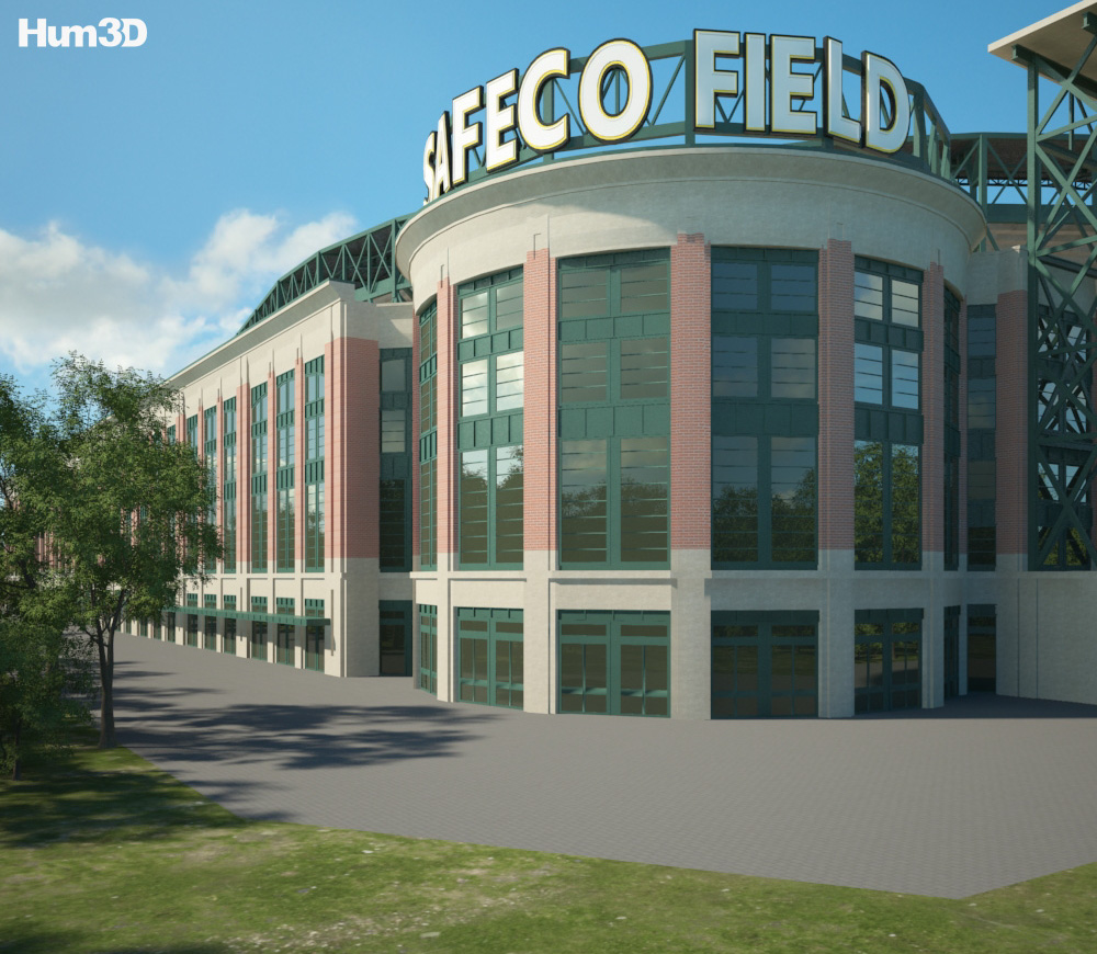 Safeco Field 3d model