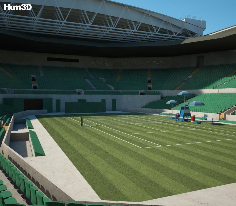 3D model of Centre Court