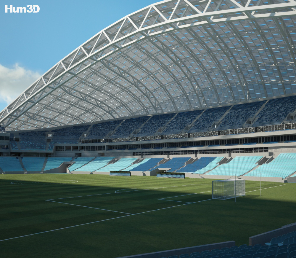 Fisht Olympic Stadium 3d model