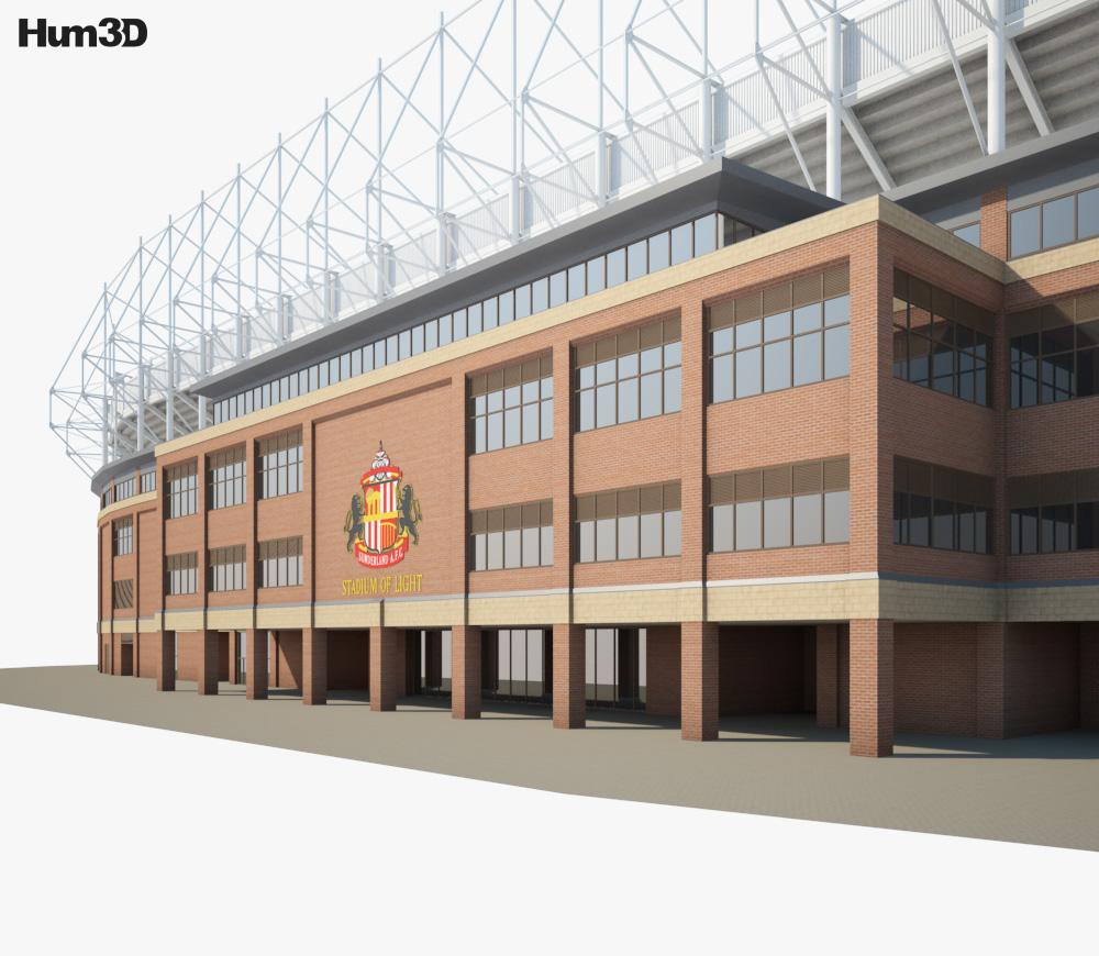 Stadium of Light 3d model