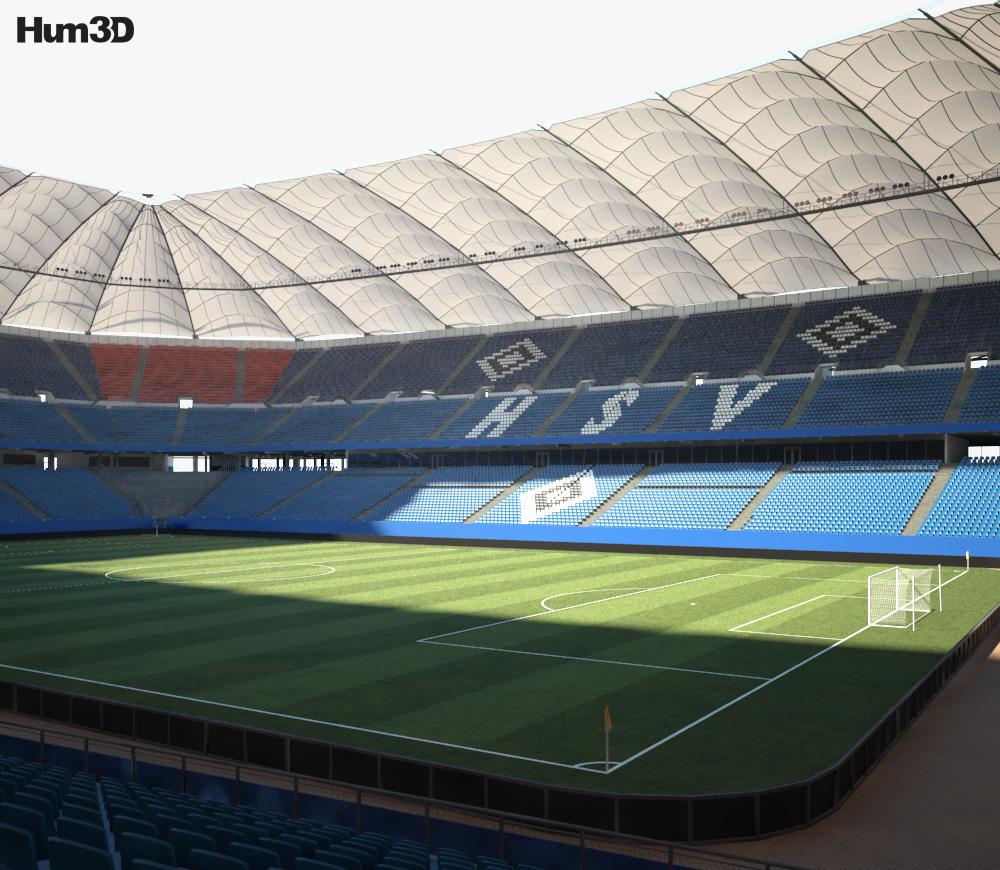 3D model of Volksparkstadion