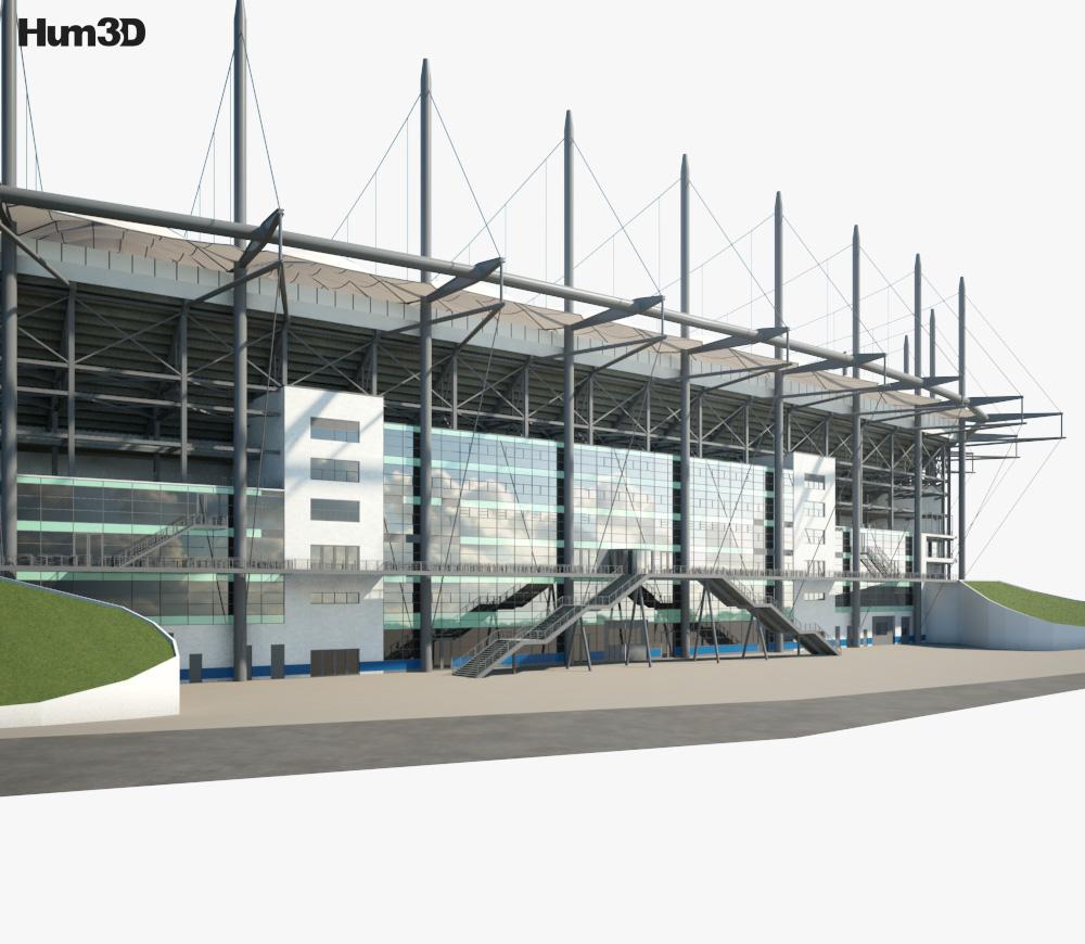 Volksparkstadion 3d model