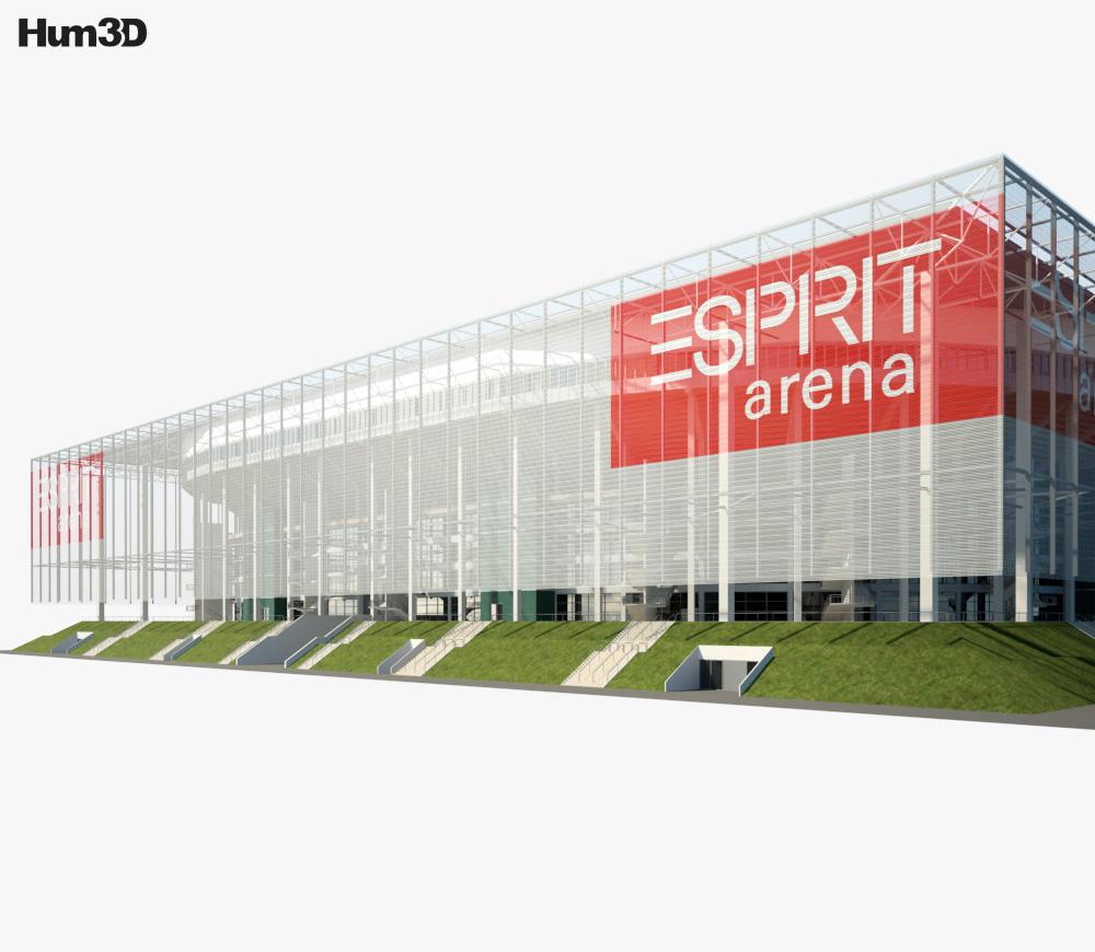 Esprit Arena 3d model