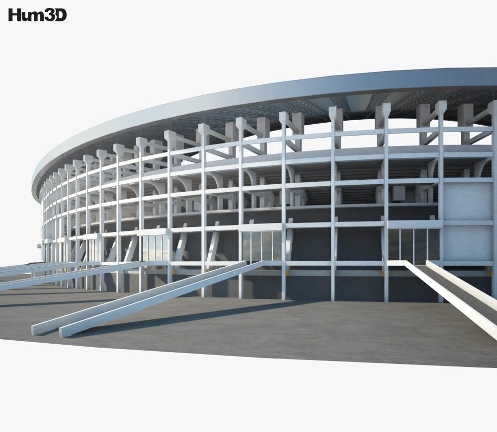 Salt Lake Stadium 3d model