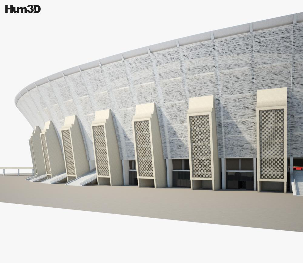 Ferenc Puskas Stadium 3d model