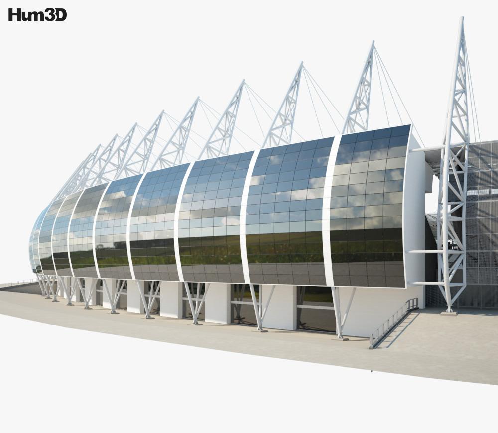 Estadio Castelo 3d model